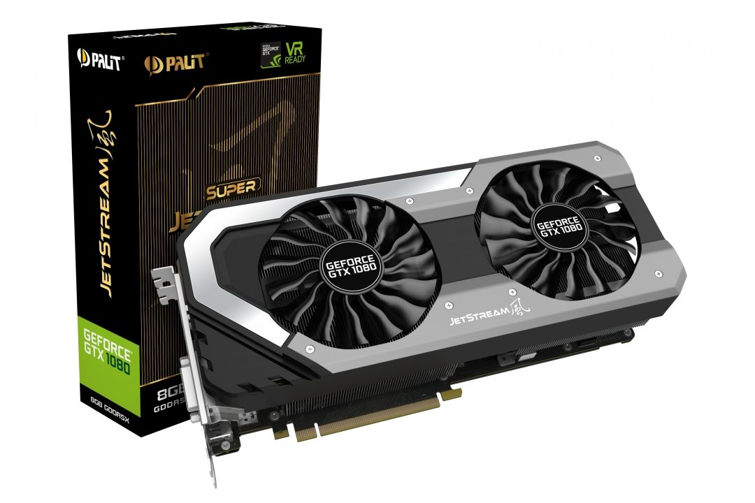 Видеокарта GeForce GTX1080 8GB GDDR5X (Palit) (NEB1080S15P2-1040J) box