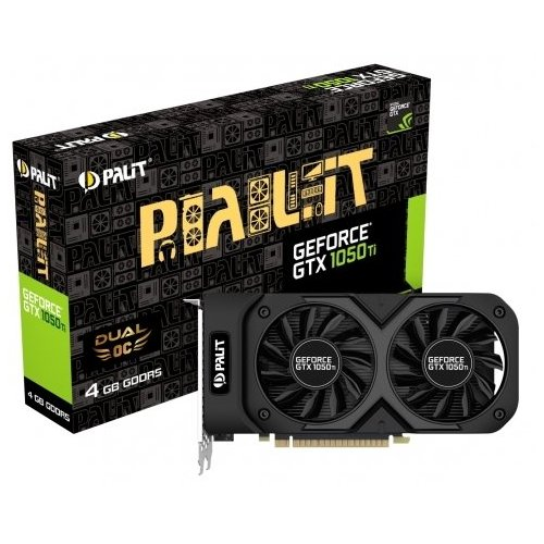 Видеокарта GeForce GTX1050Ti 4GB GDDR5 (Palit) (NE5105T018G1-1071D) box