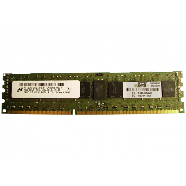DIMM 2048Mb DDR3 1333MHz  (HP 500202-061)