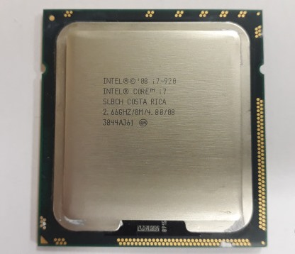 Процессор Intel Core i7 920/2,66GHz (s1366) (box) 4800MHz 8Mb УЦЕН