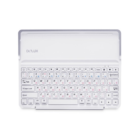 Клавиатура Delux PKO1H Bluetooth (белый)
