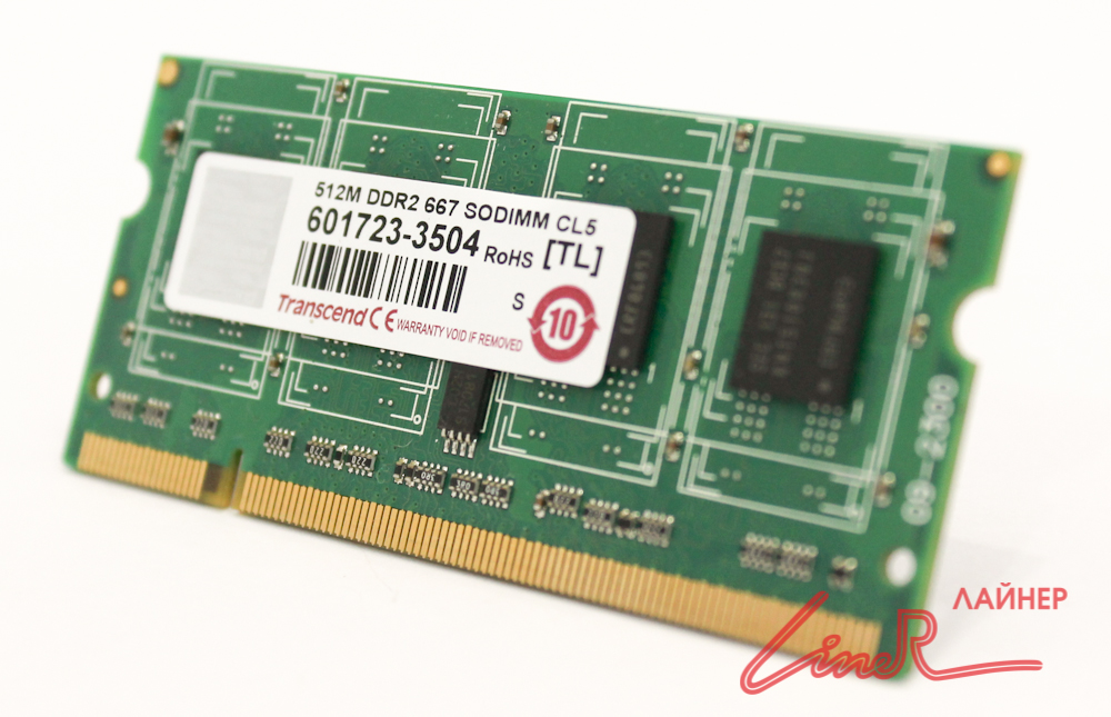 DIMM 512Mb DDR2 667MHz Mobile (for NB 200pin)11454545