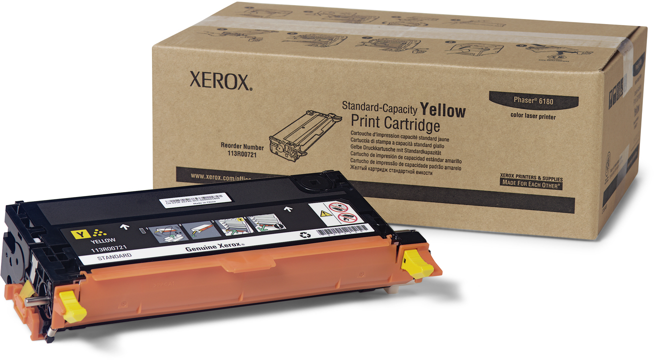 Картридж Xerox WC 6180  (yellow)