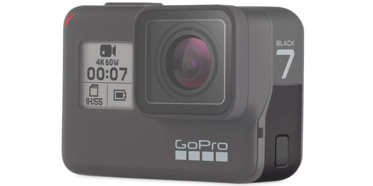 Крышка GoPro для HERO7 Black AAIOD-003 (Replacement Door HERO7 Black)*