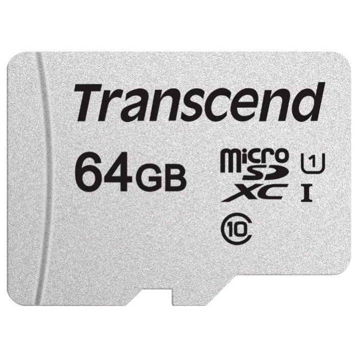 Flash SECURE DIGITAL 64Gb Micro (Transcend) TS64GUSD300S-A