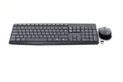 Клавиатура+мышь Logitech Wireless Desktop MK235 920-007948