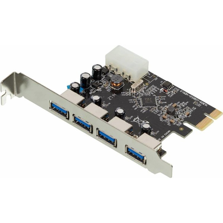 Контроллер Espada PCI-E 1-x to USB 3.0 (4 ports) СПЕЦ ЦЕНА