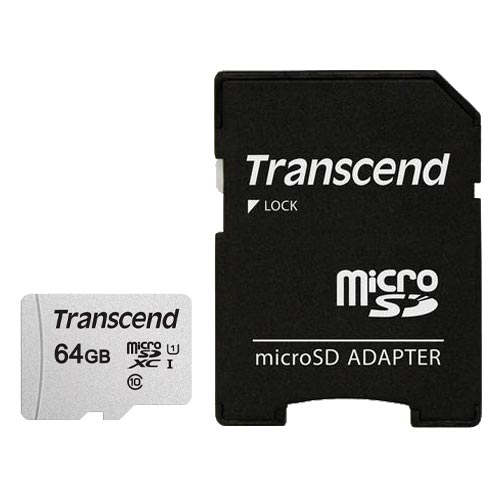Flash SECURE DIGITAL 64Gb Micro (Transcend) TS64GUSD300S