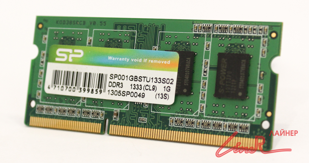 DIMM 1024Mb DDR3 1333MHz Mobile (for NB 200pin)111454545
