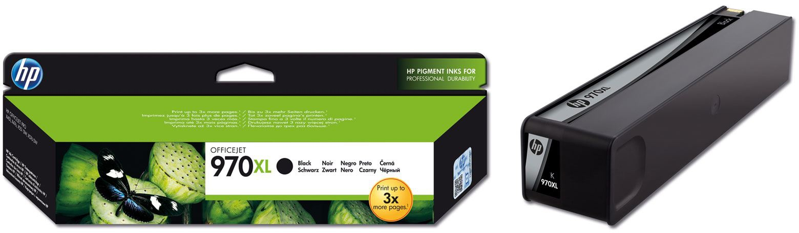 Картридж HP CN625AE Black Ink Cartridge №970XL